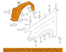 MITSUBISHI OEM Outlander Sport-Front Fender Liner Splash Shield Right 5370B848