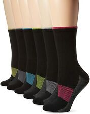 Fruit Of The Loom Womens 6 Pack Sport Active Crew Socks
