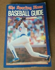 The Sporting News 1988 Official Baseball Guide
