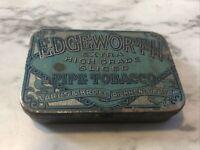 Vintage Edgeworth Pipe Tobacco Advertising Tin Larus & Bro Richmond Va