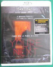 Bu Ray YOU'RE NEXT Chiudi bene la porta di casa Tombstone Collection 2013