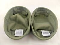 Set of 2 Longaberger Small Loaf / Biscuit Liner Khaki Fabric