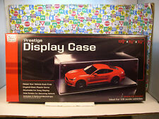 CLEAR PLASTIC DISPLAY CASE PRODUCED BY AUTO WORLD FOR 1:18 SCALE VEHICLES