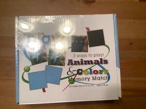 Science In Play Animals and Colors Memory Match NIB