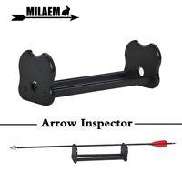 Arrow Inspector Balance & Straightness Archery Inspection Vane and Feather Tool