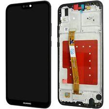 Huawei P20 Lite Komplettes LCD Display Touchscreen Schwarz + mit Rahmen