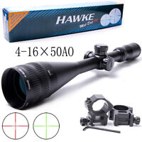 4-16x50AO Rifle Scope Illuminated Mil-Dot IR Optics Reticle 1/4 MOA, 25.4mm Tube