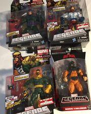 Marvel Legends Wrecking Crew Complete Lot of 4 Wrecker Thunderball Piledriver...