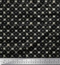 Soimoi Fabric Check & Geometric Print Fabric by Yard - GMD-961A