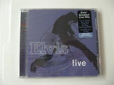 Elvis Presley elvis live - CD Compact Disc