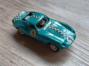Faller Ams Ferrari GT blaugrün Rallyelook funktioniert 60erJahre