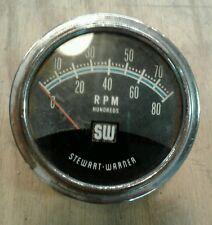 stewart warner tach vintage stewart warner tachometer