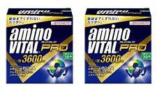 F/S Amino Vital Pro 3600mg 2 BOX 60sticks Supplement From Japan AJINOMOTO  Diet