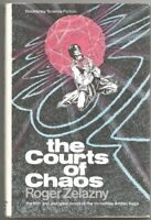 ROGER ZELAZNY The Courts of Chaos. 1st edition. HC in dj. Amber series, book 5