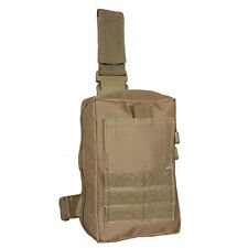 Tactical IFAK EMT EMS Drop Leg First Responder MOLLE System Pouch COYOTE TAN