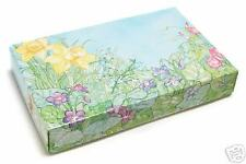 pkg of 25   1 lb 2pc Spring Flower Box Chocolate Supplies