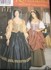 M8715 RENAISSANCE womens dress costume pattern sz 10-14