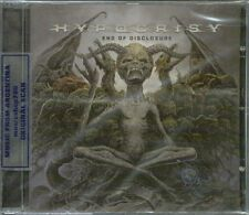 HYPOCRISY END OF DISCLOSURE + BONUS TRACK SEALED CD NEW