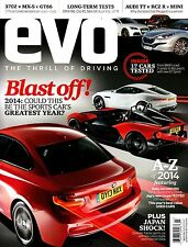 EVO Magazine March 2014 A-Z OF 2014 Baby M3 ZENOS E10 Japan Shock @NEW@