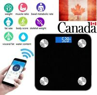 Wireless Bluetooth Digital Bathroom Body Fat Scale 180KG Scales Weight BMI Waite