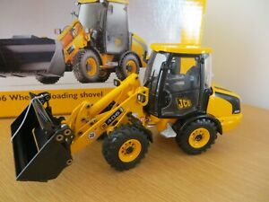 JOAL JCB 406 WHEELED LOADING SHOVEL JCB DIECAST JCB RARE MODEL JOAL COLLECTORS
