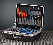 HEPCO & BECKER Werkzeugkoffer Basic - Robuster, schlagfester ABS Schalenkoffer