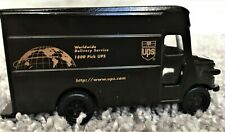 UPS Worldwide Package Delivery Service Truck Die Cast Scale 1:55 Brown Truck Toy