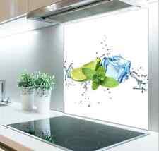 60cm x 75cm Digital Print Glass Splashback Heat Resistant  Toughened 415