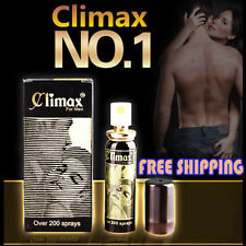 2x CLIMAX Delay Spray Enhance Men Power GET MORE TIME for your Lover ejaculation