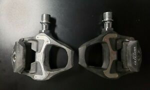 Used Shimano Ultegra 6800 Carbon SPD SL Pedals Pd-6800 Pd6800 Road Pedal Set