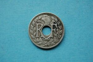 1918 DIX (TEN) CENTIMES FRANCE THIRD REPUBLIC COIN