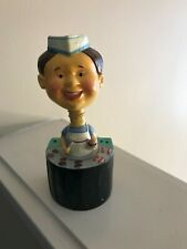 The Chef Wine Bobble Head Cork Bottle Stopper Burger King of Grill Collectible