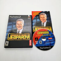 Jeopardy! (Sony PlayStation 2, 2003) PS2 Game Complete w/ Manual Alex Trebek CIB