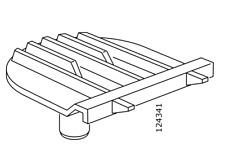 2x IKEA PAX 124341 Sliding Door Top Insert