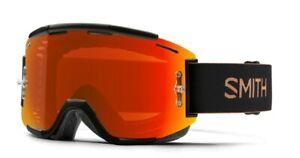 Smith Squad MTB/Bike Goggles Gravy ChromaPop Everyday Red + Bonus Lens New