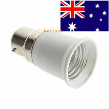B22 to E27 Socket Light Bulb Lamp Holder Adapter Plug Extender Lampholder L^