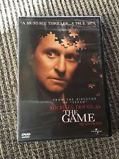 THE GAME DVD, MICHAEL DOUGLAS SEAN PENN, BRAND NEW!!