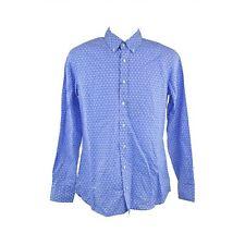 Hackett Brompton Blue Shirt Slim Fit Size XXL RRP125 D166