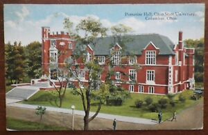 Pomerene Hall, Ohio State University, Columbus, Ohio Postcard
