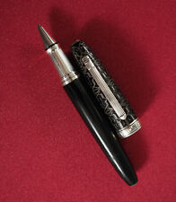 German KRONE Monarch Limited Edition # 033/888 Rollerball Pen Silver Ag925