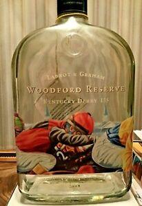 135th Kentucky Derby Woodford Reserve Souvenir  Bottle Empty