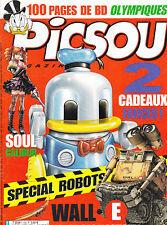 PICSOU MAGAZINE SPECIAL ROBOTS . SOUL CALIBUR . aout 2008 . N° 439 .  145 pages