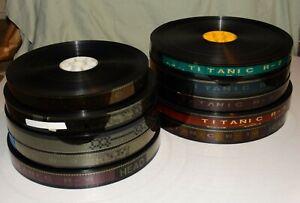 Complete 35mm Feature Film Movie Print James Cameron's TITANIC 10 Reels 1997
