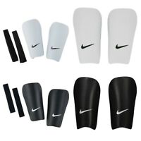 Nike Shin Pads Football Sports Protection Youth Guard Hard Shell Black White