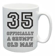 35° Novità Idea regalo compleanno Tazza da tè Grumpy Old Git 35 anni di età