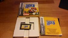 Super Mario Advance 4 Mario Bros 3 Game Boy Advance GBA OVP CIB Boxed