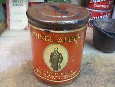 PRINCE ALBERT SMOKING TOBACCO TIN CAN united states R J REYNOLDS pipe smoking