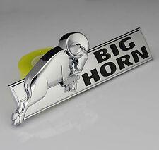 3D Auto Car ABS Fenders Schriftzug Aufkleber Emblem Plakette für Dodge BIG HORN