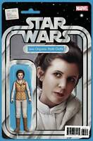 STAR WARS #36 ACTION FIGURE LEIA HOTH OUTFIT VARIANT Marvel Comics 2017