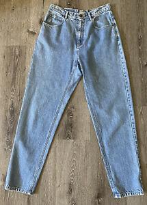 rad hipster womens liz claiborne designer hippie Vintage LIZWEAR Pants...grunge 90s designer jeans red jean high waist retro 80s